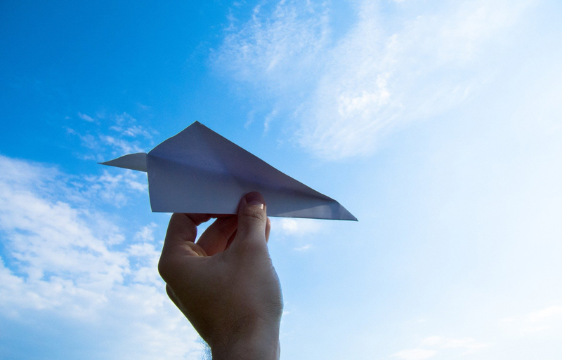 Scrum Guide Sacred Text - Paper Airplane
